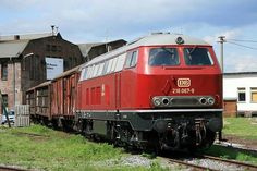 Germany - Freight train at the DB Museum Koblenz