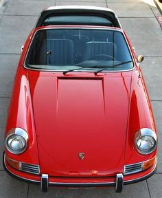 1968 Porsche 911S Targa Porsche 911 Turbo, Porsche Cars, Vintage Porsche, Vintage Cars, Dream Machine, Carrera, Touring, Vw, Convertible