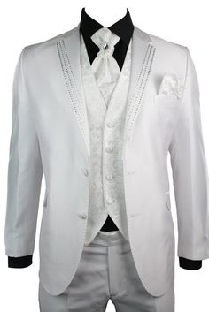 This diamonte Lapels Suit is suitable for parties, weddings and other social events. #suits #clothing #fashion #menswear #mensstyle #shopping #online #style #wedding #truclothing