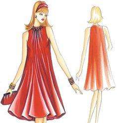F3234   Marfy Dress   New Designs   Shops@McCall