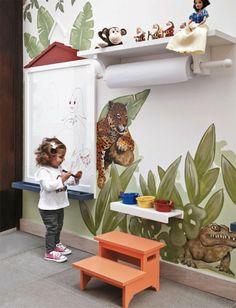 07 ideias ludicas criancas1 Como fazer um quarto lúdico para as crianças