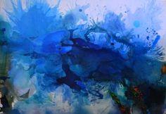 "Saatchi Art Artist Dejan Bozinovski; Painting, ""Island (Sold) Dubai"" #art"
