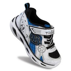 Skechers Star Wars: Episode VII The Force Awakens Dynamo Stormtrooper Toddler Boys' Shoes, Boy's, Size: 6, White Oth