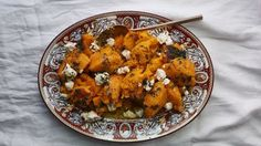 This roasted butternut squash recipe is perfect for a dinner party—serving on a large platter encourages second helpings and all the half portions, tastes, and Thanksgiving Recipes, Fall Recipes, New Recipes, Cooking Recipes, Thanksgiving Celebration, Favorite Recipes, Christmas Recipes, Holiday Recipes, Holiday Ideas