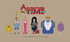 Cross-Stitch Patterns from PixelPower: Adventure Time ...