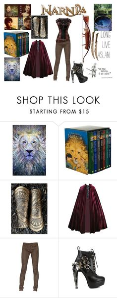 """Narnia"" by teenwarrior ❤ liked on Polyvore featuring Bow & Arrow"