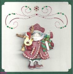 Voorbeeldkaart - kerst hobbydots - Categorie: Hobbydots - Hobbyjournaal uw hobby website