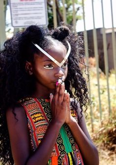 Kheris Rogers Makes History: Flexin' In My Complexion African Braids Hairstyles Pictures, Braided Hairstyles, Cool Hairstyles, Hairstyle Ideas, Curly Hair Styles, Natural Hair Styles, Afro Punk Fashion, Twist Braids, Black Is Beautiful