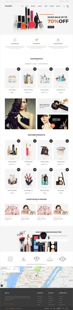 Valeri is a beautiful and professional 6in1 responsive #Prestashop theme for #webdesign beauty SPA and salons or selling #healthcare products eCommerce websites download now➩  https://themeforest.net/item/valeri-responsive-prestashop-theme-for-beauty-spa-and-salons/19290487?ref=Datasata