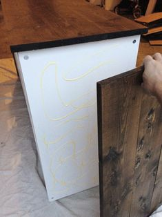 Young House Love | An Easy Ikea Hack Changing Table | http://www.younghouselove.com