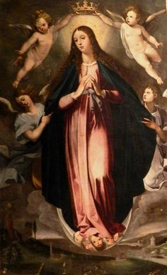 Mary as the Immaculate Conception by Giuseppe Cesari.