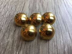 5 x gold tone #domed #metal buttons 15mm vintage gothic #steampunk style,  View more on the LINK: http://www.zeppy.io/product/gb/2/232159711466/