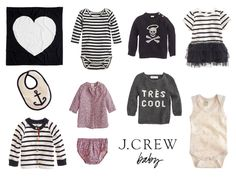 Since when is there a J Crew baby?!?!! Lawd help me whenever they have some sales...