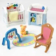 Fisher Price Loving Family Dollhouse Sparkling Symphony Nursery 2001   I  Would Rather Have This