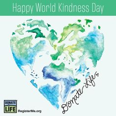 World Kindness Day, Green Ribbon, To My Daughter, Happy, Ser Feliz, Being Happy