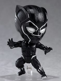 The Good Smile Company have announced a new Avengers: Infinity War Nendoroid Black Panther (Infinity Edition). This new figure will be released in [. Chibi Marvel, Marvel Art, Marvel Heroes, Black Panther Marvel, Overwatch, God Of War, Die Rächer, New Avengers, Avengers Cartoon