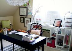 Room Reveal: DIY Filled Home Office
