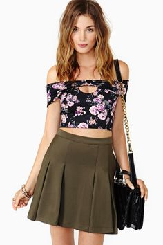 Sonnet Crop Top