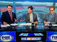 NASCAR Pre-Race with Chris Myers, Michael and Darrell Waltrip on FOX from Bristol, TN