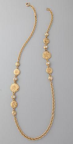 Vintage Chanel necklace.