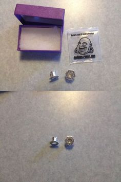 Body Piercing Jewelry 32050: Tawapa Lotus Eyelets Gauges Plugs Silver 0G New In Open Package BUY IT NOW ONLY: $75.0