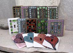 Mosaic Switch Plates.