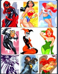 The women of DC...