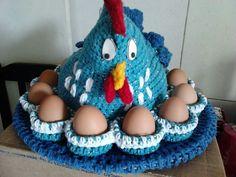 crochê porta ovos
