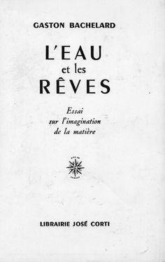 True poetry is a function of awakening. It awakens us, but it must retain the memory of previous dreams. • Gaston Bachelard, from L'eau et les rêves (Water and Dreams)