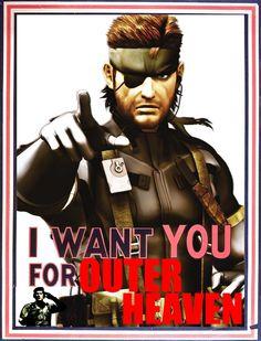 Big Boss Wants You - Metal Gear Solid