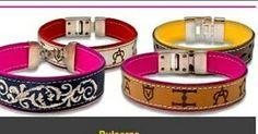 Pulseras taurinas personalizables con tus hierros preferidos o el tuyo propio. Solo en Mastoro.es