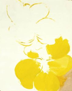 Georgia O'Keeffe, Untitled (Yellow Flower) 1930's