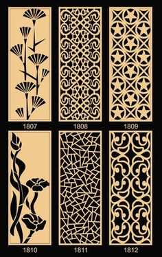 Wood Vent Grill - View Specifications & Details of Wooden Grilles by Ishan Impex, Ahmedabad Jalli Design, Grill Design, Door Design, Wood Carving Designs, Stencil Designs, Cnc Cutting Design, Gravure Laser, Room Partition Designs, Laser Cut Panels