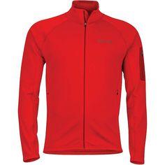 Marmot Men's Stretch Fleece Jacket - Medium - Team Red