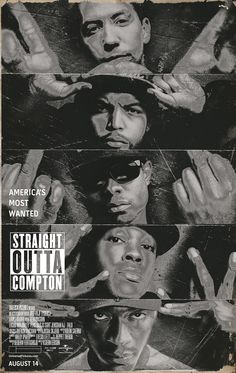 """Straight Outta Compton...if you are a hip hop head from my generation (class of 84""""), this biopic is required watching! It was so dope, & will take you back!"""