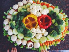 Mama Sugs: An Epic Veggie Tray