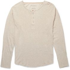 Nudie Jeans Fairtrade Organic Cotton-Jersey Henley T-Shirt