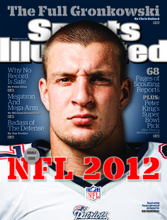 This week's Sports Illustrated cover gets #GRONKED. #Patriots
