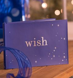 "As the #Disney lyrics say, ""A #dream is a wish your heart makes,"" which truly speaks to the power of a #wish. Collect your dreams and wishes in this timeless Wish Book and you'll never know when the stories of your mind will become the stories of your life."