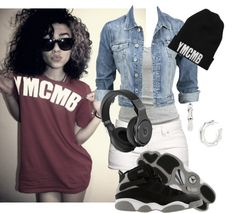 """""""ymcmb"""" by shwatymanezbelieber ❤ liked on Polyvore"""