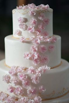 Wedding Cake by Ana Parzych Cakes   Photography: Julia Jane Studios