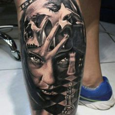 Manly Leg Tattoos