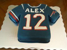 Awesome Patriots Birthday Cake