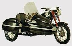 Motocykl Jawa se sajdkárou