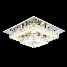 12+Uppoasennus+,++Moderni+Traditionaalinen/klassinen+Maalaistyyliset+Kromi+Ominaisuus+for+Kristalli+LED+Minityyli+MetalliLiving+Room+–+EUR+€+98.77