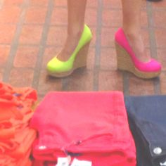 Neon Wedges #3PCstyle