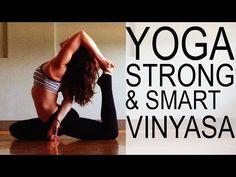 Strong & Smart Vinyasa Yoga With Tim Senesi - YouTube