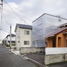 Dream Office? Suppose Design Office's House of Tousuienn  has translucent plastic walls