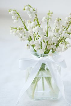 ♥ Lily of the Valley...smell so elegant!!