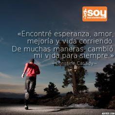 Correr es lo que soy ....  http://soymr.info/1eGSbJr #SoyMaratonista #running…